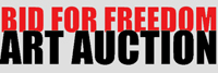 BID FOR FREEDOM – ART AUCTION